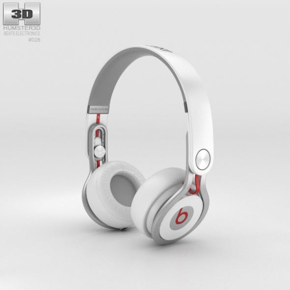 Beats Mixr High-Performance Professional White