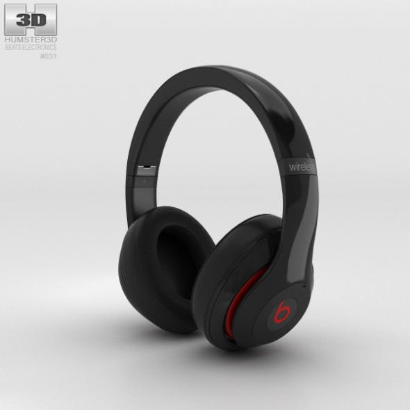 Beats by Dr. Dre Studio Wireless Over-Ear Black