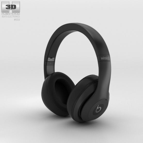 Beats by Dr. Dre Studio Wireless Over-Ear Matte Black