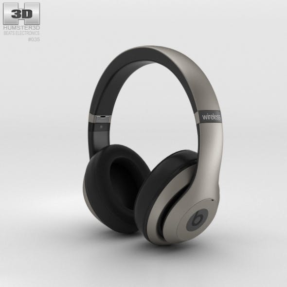 Beats by Dr. Dre Studio Wireless Over-Ear Titanium