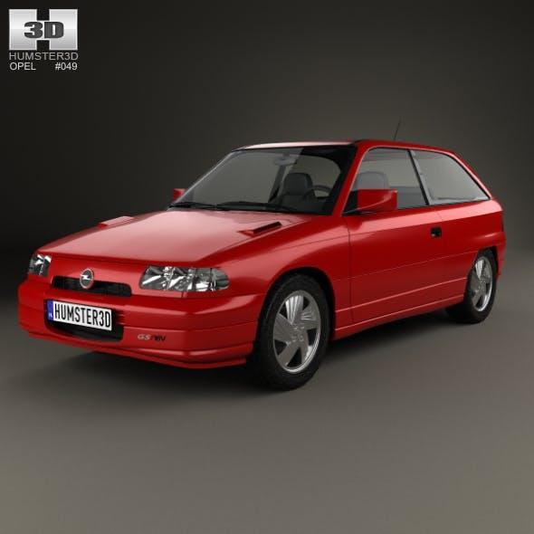 Opel Astra (F) 3-door GSi 1991