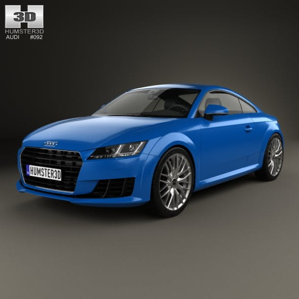Audi TT (8S) coupe 2015 - 3DOcean Item for Sale