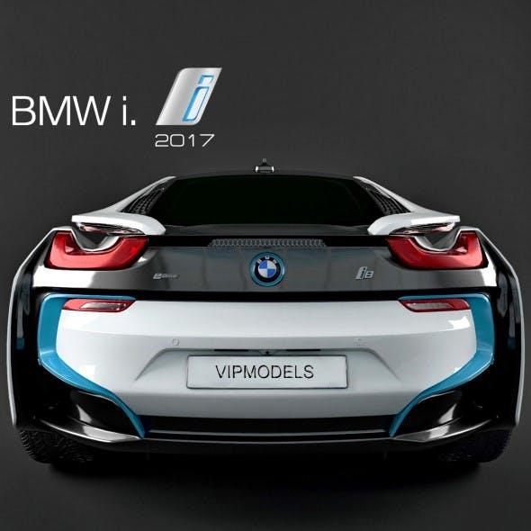 BMW i8 2017 3D model