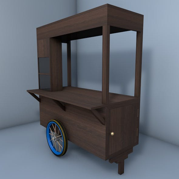 Coffee Cart | Ice Cart | Snack Cart | Wagon
