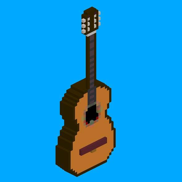 Voxel Classical Acoustic Guitar