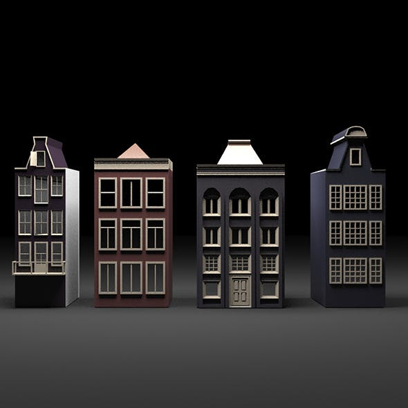 Low Poly Buildings