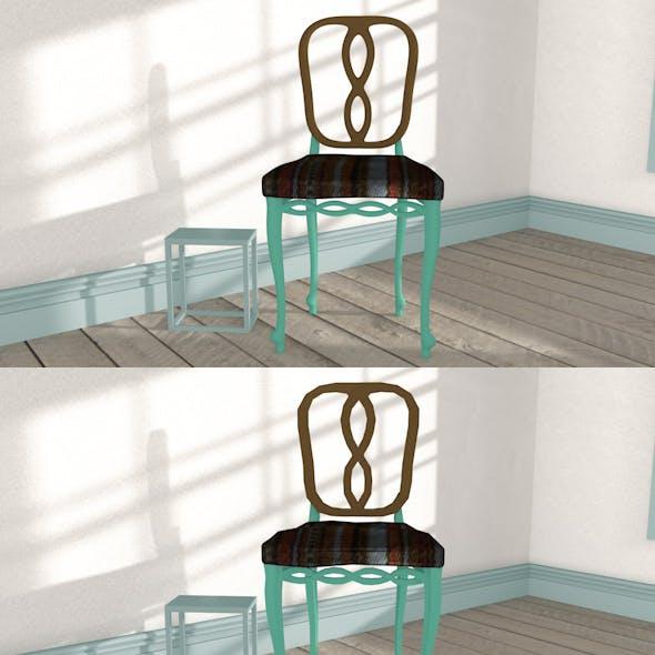 Chair-Coffee Table