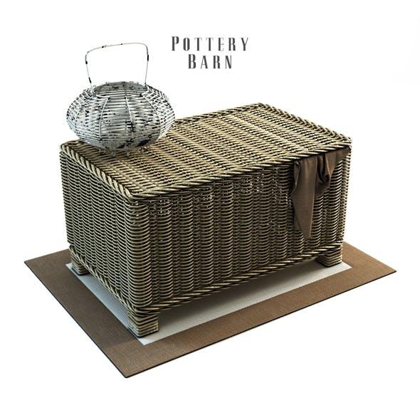 PB-WovenBasket - 3DOcean Item for Sale