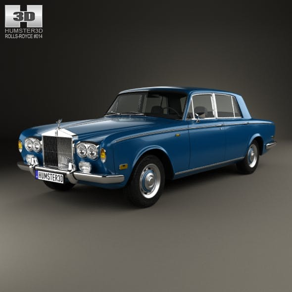 Rolls-Royce Silver Shadow 1965 - 3DOcean Item for Sale
