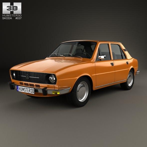 Skoda 105 L 1976 - 3DOcean Item for Sale