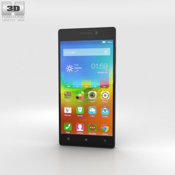 Lenovo Vibe X2 Dark Grey - 3DOcean Item for Sale