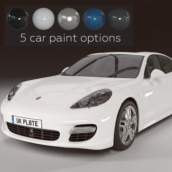Porsche Panamera Turbo - 3DOcean Item for Sale