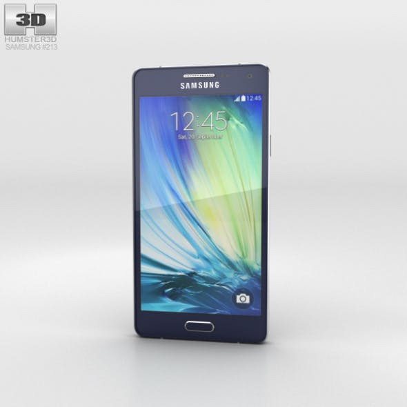 Samsung Galaxy Alpha A3 Midnight Black