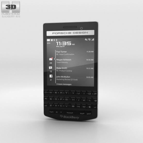 BlackBerry Porsche Design P'9983 Black - 3DOcean Item for Sale