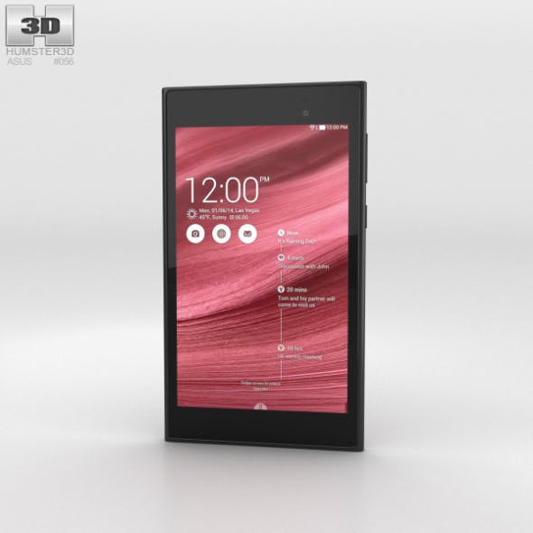 Asus MeMO Pad 7 Burgundy Red - 3DOcean Item for Sale