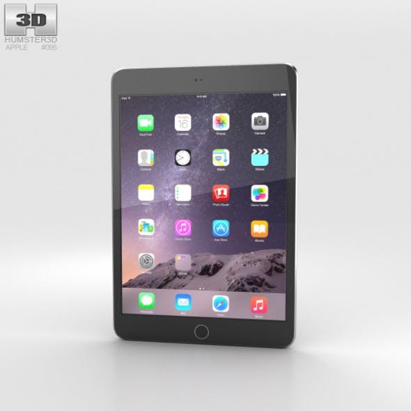 Apple iPad Mini 3 Space Grey - 3DOcean Item for Sale