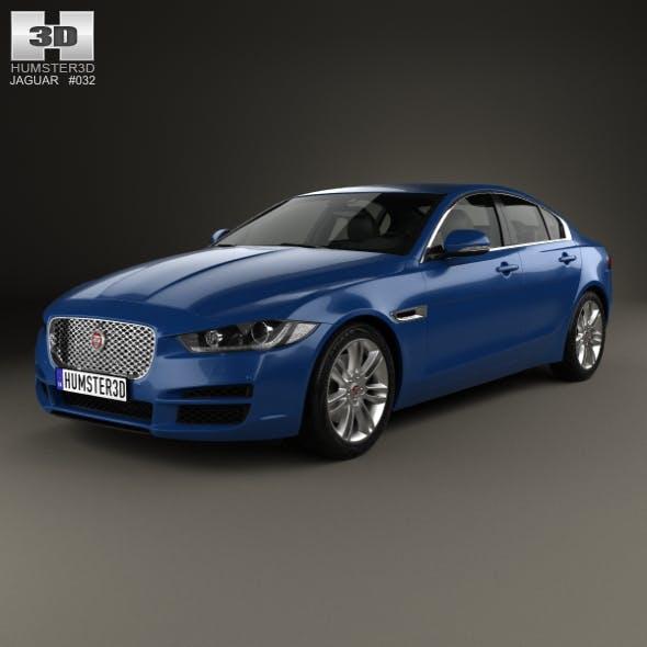 Jaguar XE 2015 - 3DOcean Item for Sale