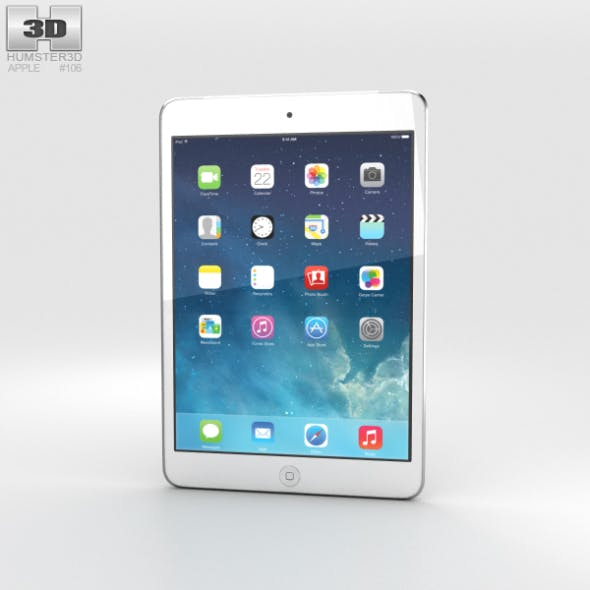 Apple iPad Mini 2 Cellular Silver