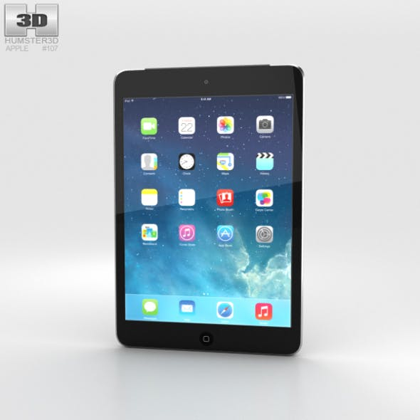 Apple iPad Mini 2 Cellular Space Grey - 3DOcean Item for Sale