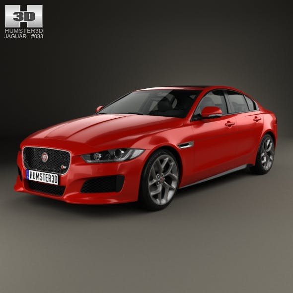 Jaguar XE S 2015 - 3DOcean Item for Sale