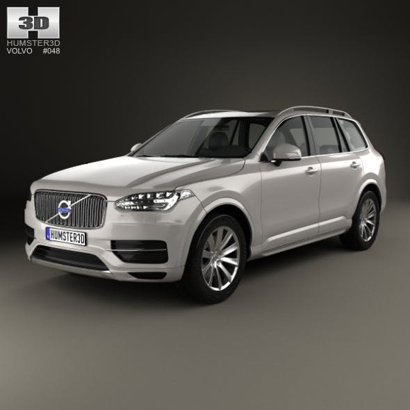 Volvo XC90 T5 2015 - 3DOcean Item for Sale