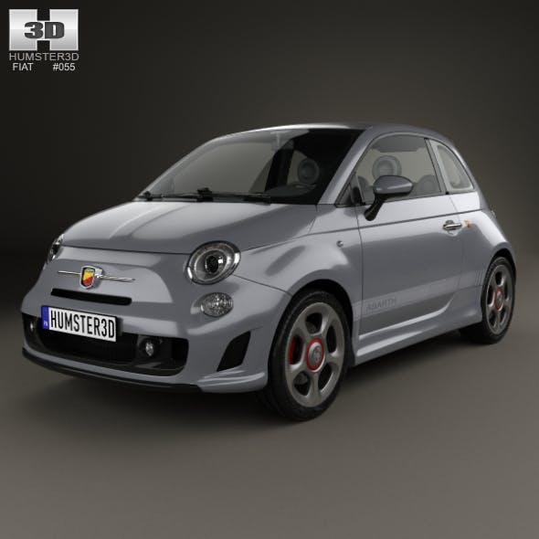 Fiat 500 Abarth 595 Competizione 2012