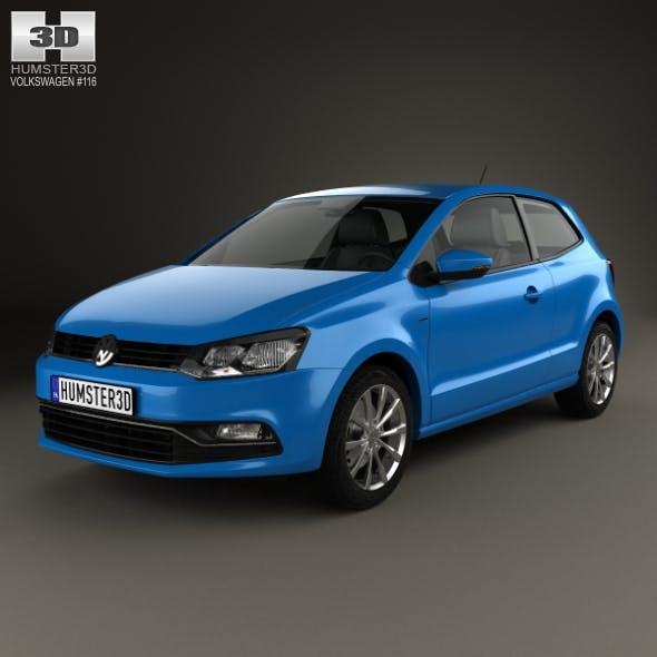 Volkswagen Polo 3-door 2014 - 3DOcean Item for Sale