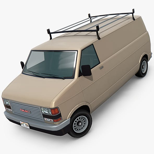 GMC Vandura Van - 3DOcean Item for Sale
