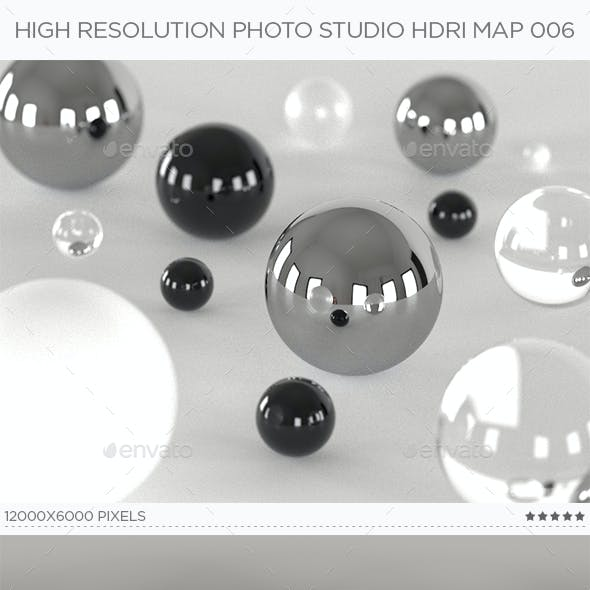 High Resolution Photo Studio HDRi Map 007