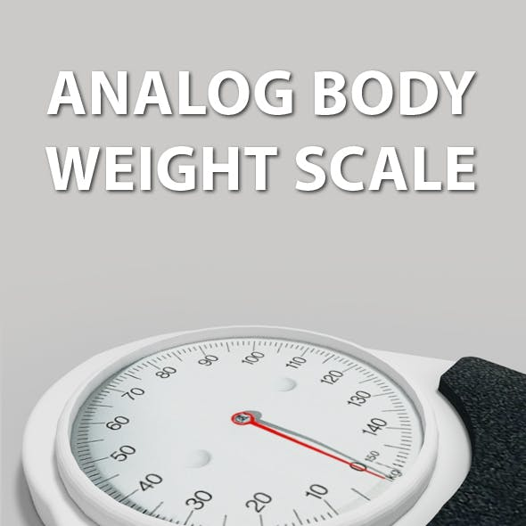 Analog Body Weight Scale
