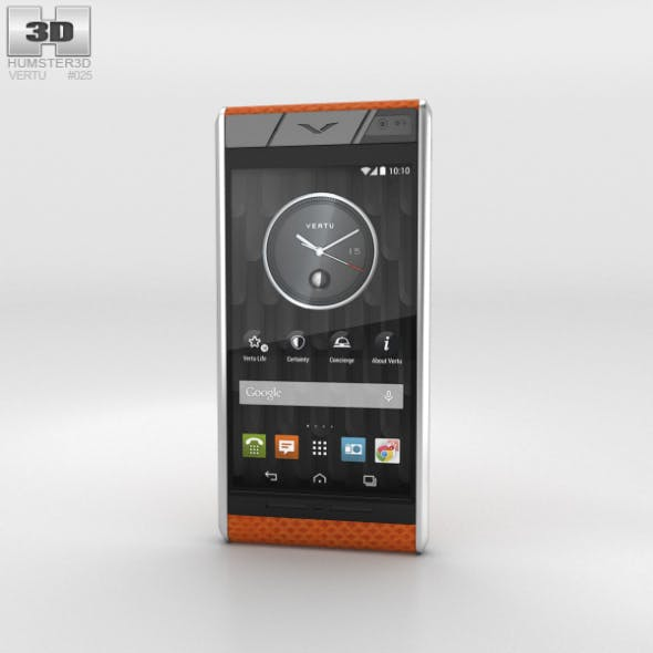 Vertu Aster Tangerine Karung - 3DOcean Item for Sale