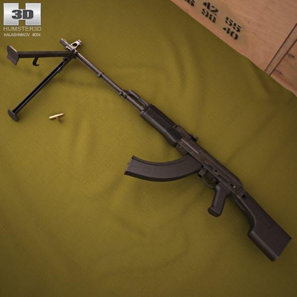 RPK-74M - 3DOcean Item for Sale