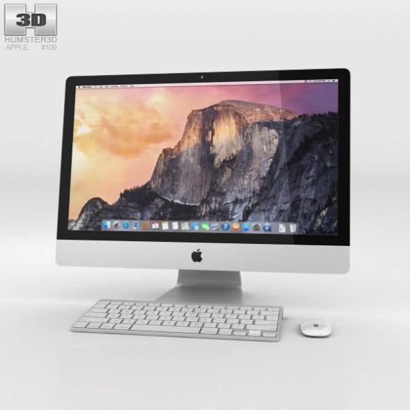 Apple iMac 27-inch 2014 - 3DOcean Item for Sale