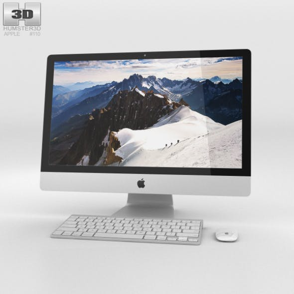 Apple iMac 27-inch Retina 5K - 3DOcean Item for Sale