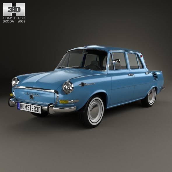Skoda 1000 MB 1964 - 3DOcean Item for Sale