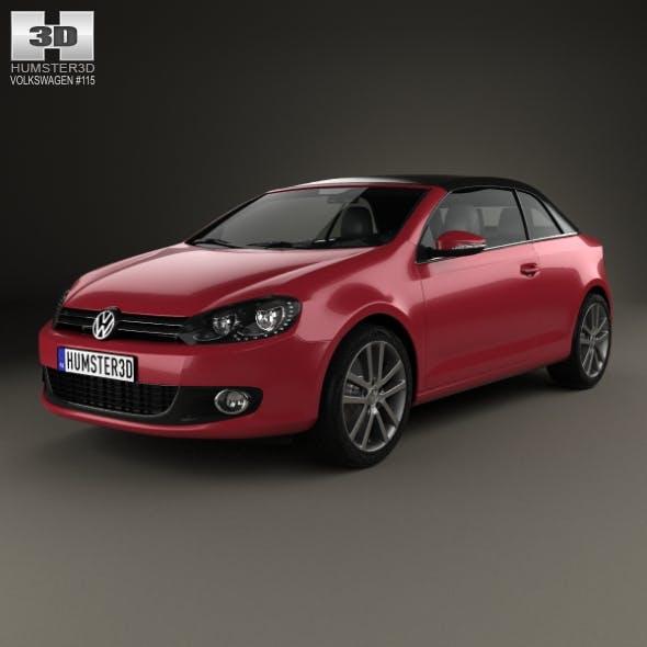 Volkswagen Golf convertible 2011 - 3DOcean Item for Sale