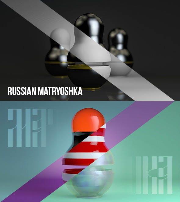Matryoshka doll - 3DOcean Item for Sale