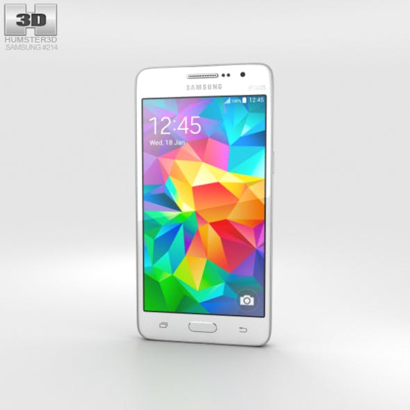 Samsung Galaxy Grand Prime White - 3DOcean Item for Sale