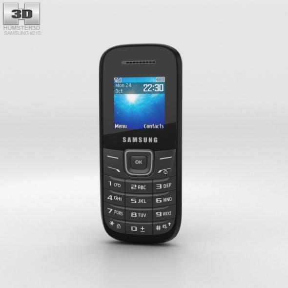 Samsung E1205 Black - 3DOcean Item for Sale