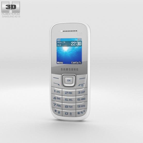 Samsung E1205 White - 3DOcean Item for Sale