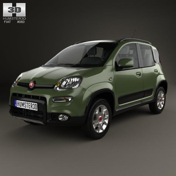 Fiat Panda 4×4 2012 - 3DOcean Item for Sale