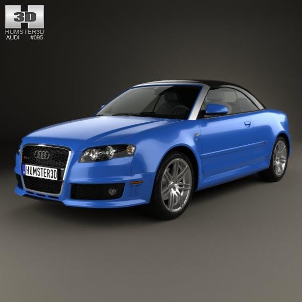 Audi RS 4 convertible 2006