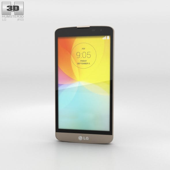 LG L Bello Gold - 3DOcean Item for Sale