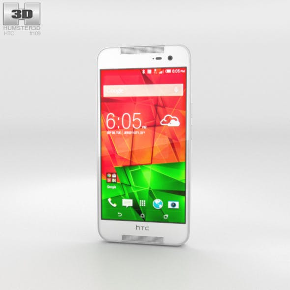 HTC Butterfly 2 White - 3DOcean Item for Sale