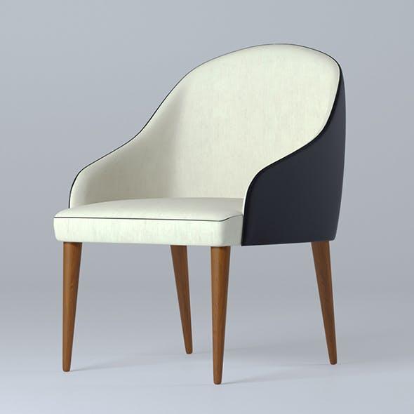 Armchair B&B Judy - 3DOcean Item for Sale