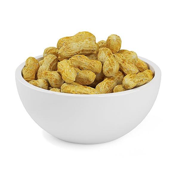 Bowl of Peanuts - 3DOcean Item for Sale