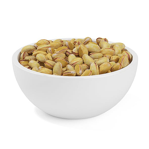 Bowl of Pistachios - 3DOcean Item for Sale
