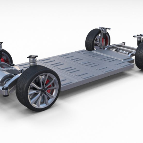Tesla Model 3 Chassis