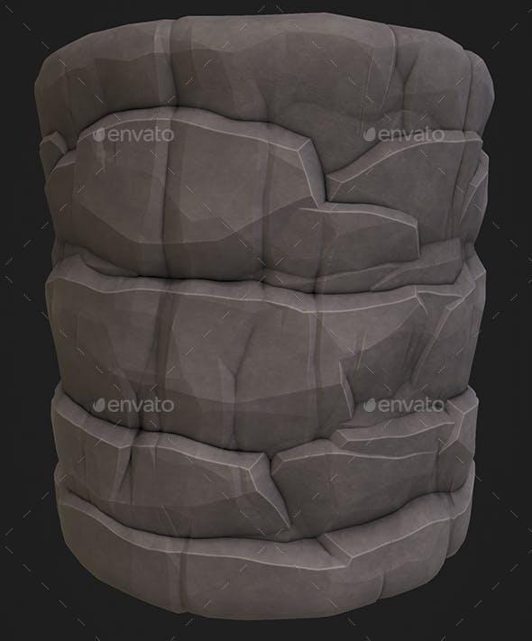 Stylized Rock 1 - 3DOcean Item for Sale