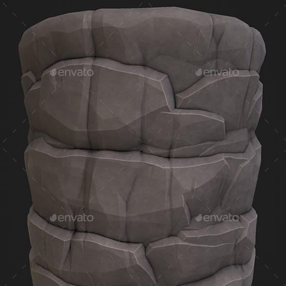 Stylized Rock 1